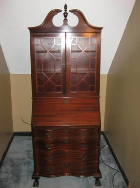 Furniture Secretary Desk Cabinet For