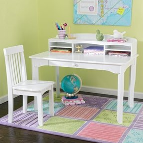 Kids White Desk With Hutch For 2020