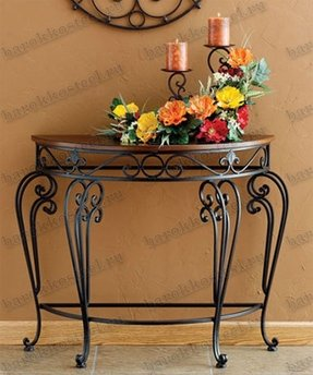 Wrought Iron Foyer Table Foter