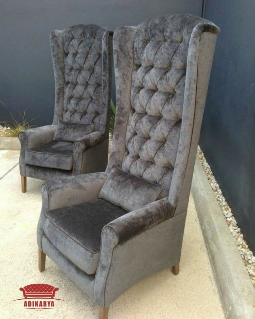 Superieur Gentlemans High Back Feature Wing Chair Or Dining Carver