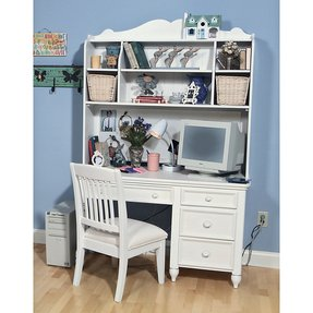 best service b1a9c 80cbc Best Kids White Desk With Hutch for 2020 - Ideas on Foter