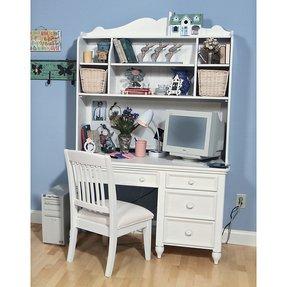 White Desk Hutch Foter