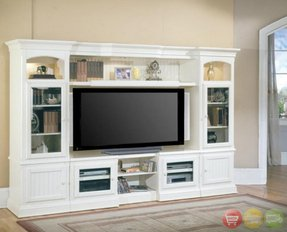 White Wall Units And Entertainment Centers Ideas On Foter