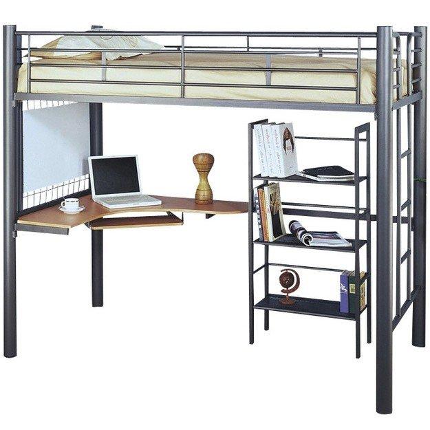 Kids bedroom furniture bunk beds loft bed with desk underneath .  sc 1 st  Foter & Metal Bunk Bed With Desk - Ideas on Foter