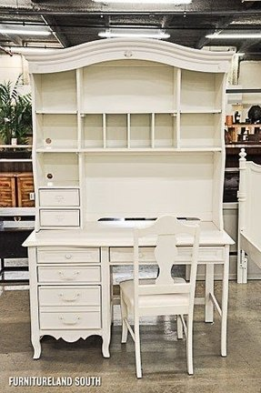 Kids White Desk With Hutch Ideas On Foter