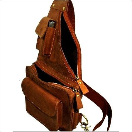 LEATHER MADE Womens Sling Bag