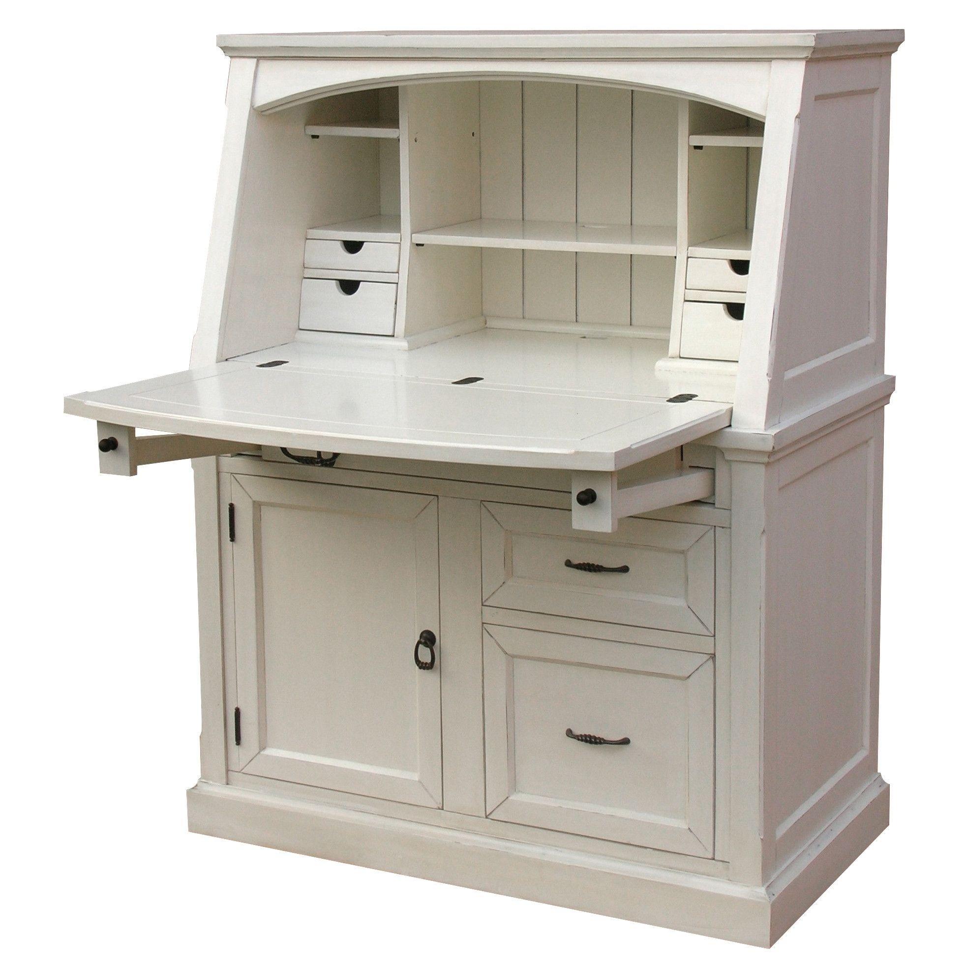 Secretary Style Computer Desk - Ideas on Foter