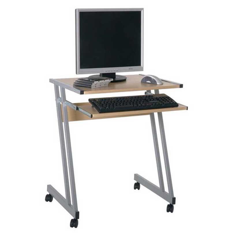 Futuristic Small Computer Desk Decor