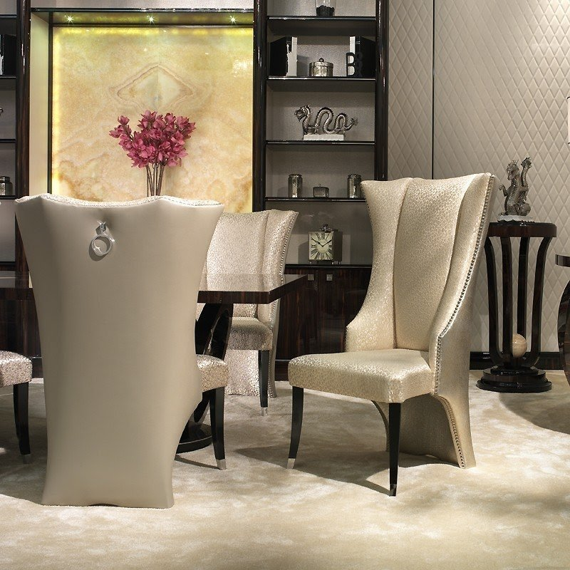 Wing Back Dining Chairs