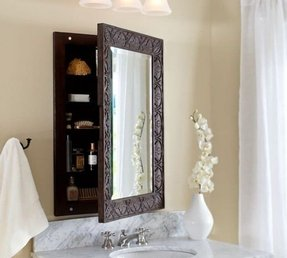 Recessed Wood Medicine Cabinets With Mirrors Foter