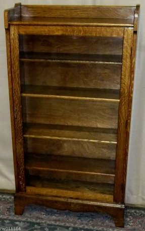 Oak Bookcases With Glass Doors Foter