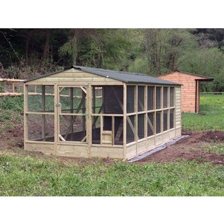 Chicken coop with run for sale