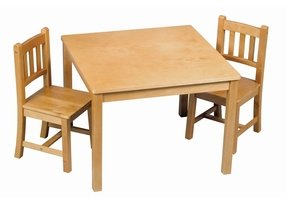 Wooden Childrens Table And Chairs Ideas On Foter
