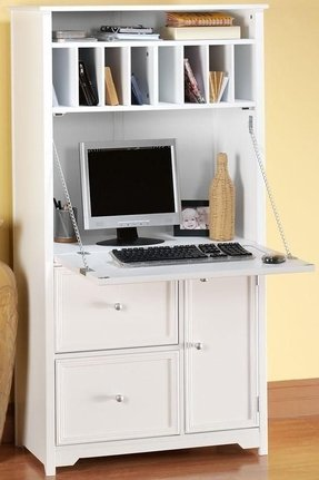 Narrow Secretary Desk Foter