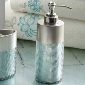 blue glass bathroom accessories. Frosted Glass Bathroom Accessories 3 Blue A