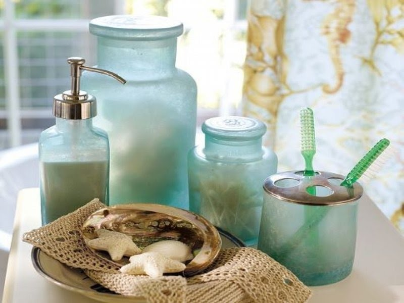 Merveilleux Frosted Glass Bathroom Accessories 5