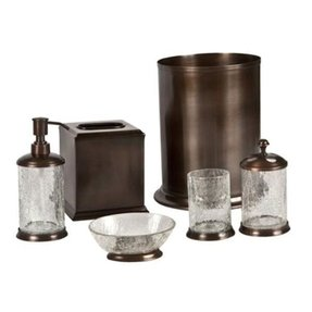 Frosted Glass Bathroom Accessories - Foter