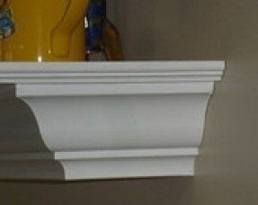Inch Deep Crown Molding Shelf 1