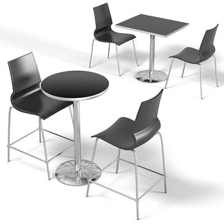 Indoor bistro table chairs 3