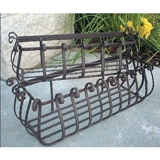 Iron planter box 5