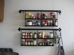 Wall Hanging Spice Rack Foter