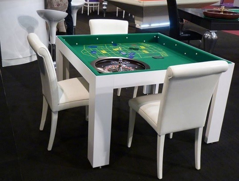 Superbe Modern Small Game Table With Chairs The Awesome Modern Game