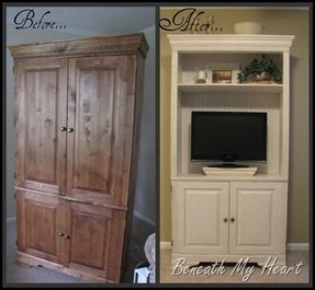 Corner Entertainment Center With Hutch Foter