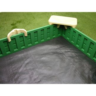 Sandlock sandboxes 10 rectangular sandbox with cover 1