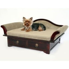 Dog bed frame foter for Wood dog bed furniture