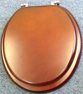 Wooden toilet seats wood oak mahogany maple marble brown white