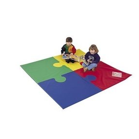 You will love our 72in square puzzle mat 1in x