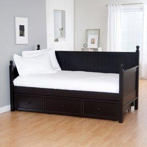 wooden daybed frame foter. Black Bedroom Furniture Sets. Home Design Ideas