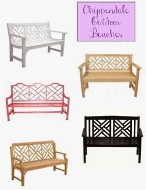 Chippendale Garden Bench Ideas On Foter