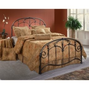 Jacqueline antique iron bed