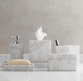 Marble accessories cant have a marble counter but that doesnt