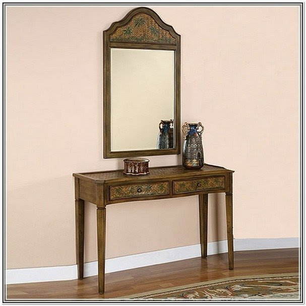 Entryway Table And Mirror Sets Foter