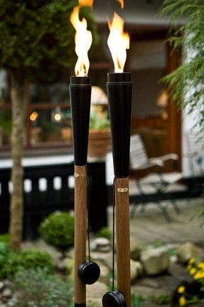 Outdoor torches oil