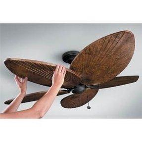 Palm frond fan blades foter palm leaf ceiling fan blades 139 99 aloadofball Gallery