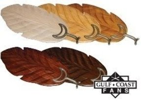 Palm leaf shaped ceiling fan blade covers sand 15