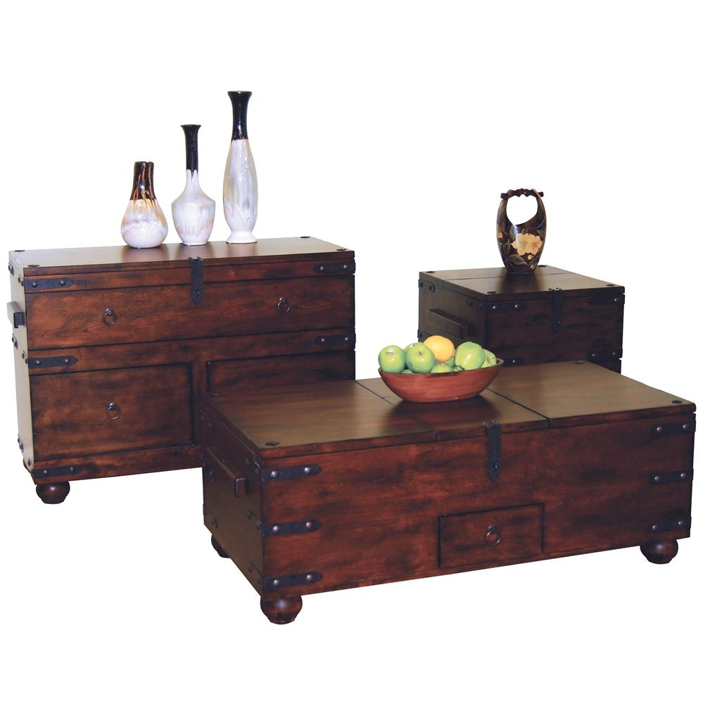 Rustic Chest Coffee Table Foter
