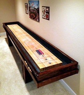Used shuffleboard table 6