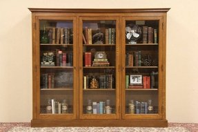 Wooden Bookcases With Glass Doors Ideas On Foter