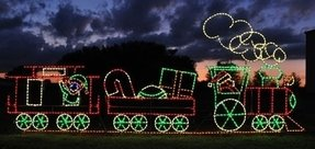 Outdoor Christmas Train Decoration For 2020 Ideas On Foter