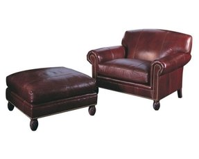 Brilliant Leather Chair And A Half With Ottoman Ideas On Foter Lamtechconsult Wood Chair Design Ideas Lamtechconsultcom