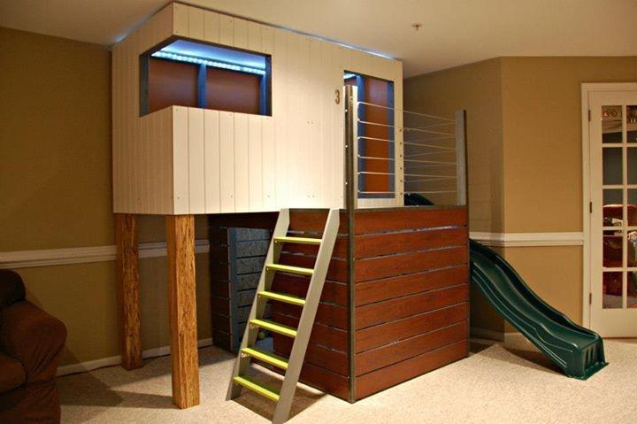 Childrens Indoor Playhouse 4
