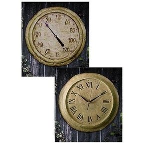 Outdoor Clock And Thermometer Set - Ideas on Foter