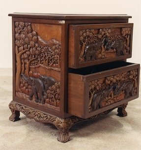 Hand carved furniture 31