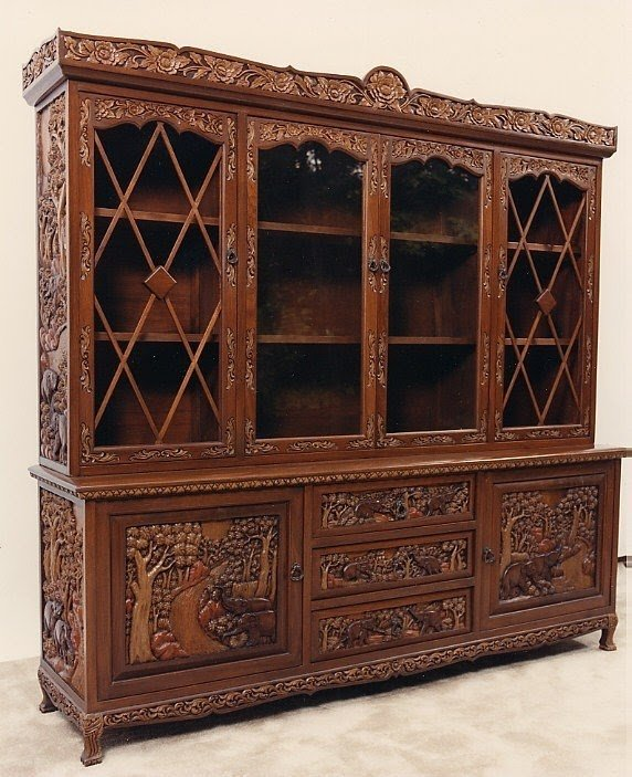 Incroyable Hand Carved Furniture 33