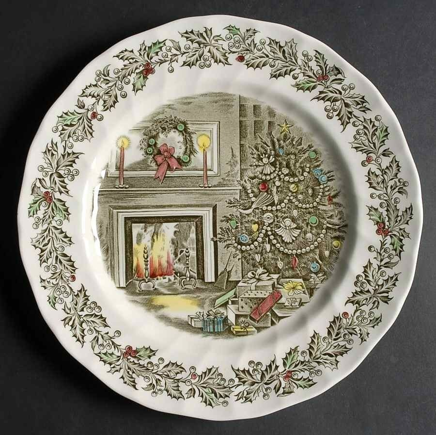 Johnson brothers holiday dinnerware : dinner plate patterns - pezcame.com