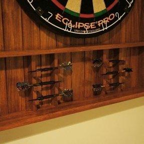Custom Dart Board Cabinet Ideas On Foter
